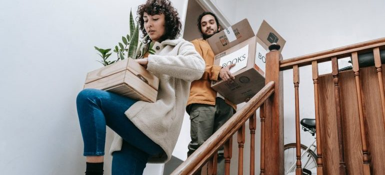 Decluttering when downsizing your Woodbridge home.